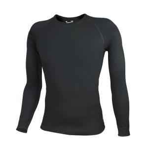 Light Merino Long Sleeve Top Black