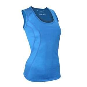Cool Merino Singlet Blue