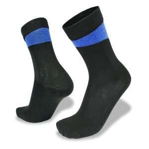 Bamboo Velo Socks Black/Blue